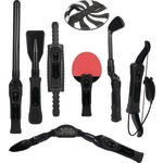 WII 8IN1 SPORTS PACK BLK - WI-8SRB - By CTA