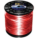 RED 4AWG 100' POWER WIRE - PW4R100Z - By DB LINK