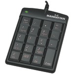 NOTEBK NUMERIC KEYPAD - 176354 - By MANHATTAN