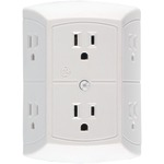 6 OUTLET INWALL ADPTR - 50759 - By GE