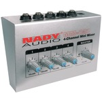 4-CHANNEL MINI MIXER - MM-141 - By NADY