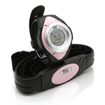 HEARTRATE MNITR WATCH PNK - PHRM38PN - By PYLE