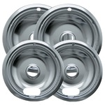 CHROME DRIP PAN A 2SM/2LG - 10124XN - By RANGE KLEEN