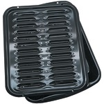PORCELAIN BROILER PAN - BP102X - By RANGE KLEEN