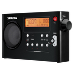 DIG AM/FM PORT RADIO BLK - PR-D7-BK - By SANGEAN