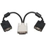 DVI TO VGA SPLITTR ADAPTR - P120-001-2 - By TRIPP LITE