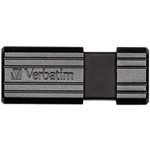 8GB PNSTRP BLK USB - 49062 - By VERBATIM