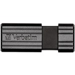 32GB PNSTRP BLK USB - 49064 - By VERBATIM