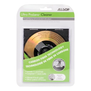 ALLSOP 23321 DVD & CD Laser Lens Cleaner