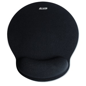 BLACK MEMORY FOAM MOUSE - 30203 - ALLSOP