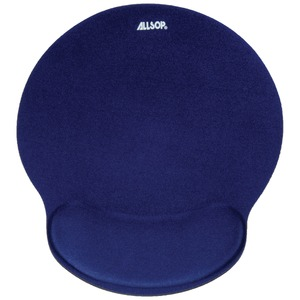 BLUE MEMORY FOAM MOUSE - 30206 - ALLSOP