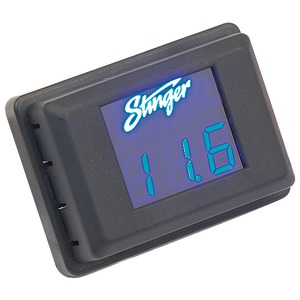 VOLTAGE GAUGE BLU DISPLY - SVMB - STINGER