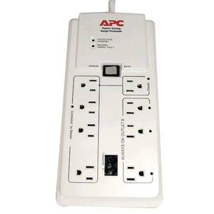 8 OUTLET SURGE PROTECTOR - P8GT - APC