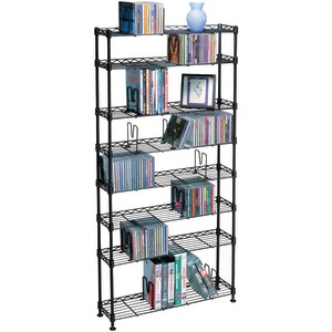 MULTIMEDIA STORAGE RACKS (8 SHELVES) - 3020 - ATLANTIC