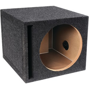 "B BOX SERIES SINGLE VENTED SUBWOOFER ENCLOSURE (12"") - E12SV - ATREND"