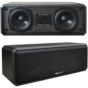 "5.25"" CENTER CHANNEL SPEAKER - DV52CLRB - BIC AMERICA"