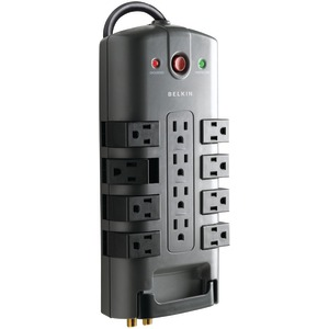 PIVOT-PLUG SURGE PROTECTORS (12-OUTLET) - BP112230-08 - BELKIN