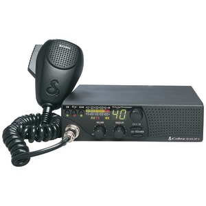 40-CHANNEL CB RADIO WITH 10 NOAA WEATHER CHANNELS - 18 WX ST II - COBRA