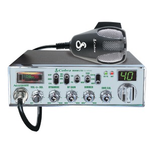 CLASSIC CB RADIO WITH NIGHTWATCH ILLUMINATED FRONT PANEL - 29NW - COBRA