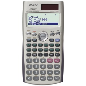 FINANCIAL CALCULATOR - FC-200V - CASIO