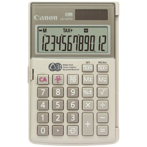 12-DIGIT HANDHELD CALCULATOR - 1075B004AA - CANON