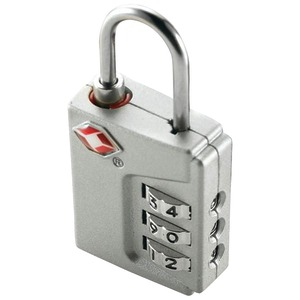 TSA APPROVED 3-DIAL INSPECTION STATUS LOCK - TS390TSR - CONAIR