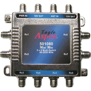 3 IN 8 OUT MULTI-SWITCH - 501080 - EAGLE ASPEN