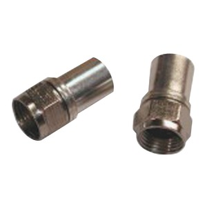 RADIAL COMPRESSION RG6 CONNECTORS WITH O-RING - FC-RDL-B - EAGLE ASPEN