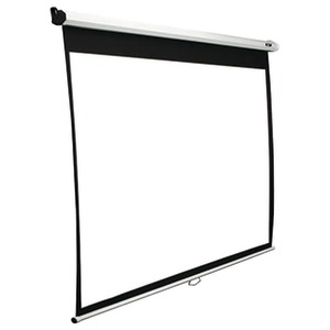 "MANUAL SERIES PULL-DOWN SCREEN (120""; 58.8"" X 104.6""; 16:9 HDTV FORMAT) - M120XWH2 - ELITE SCREENS"