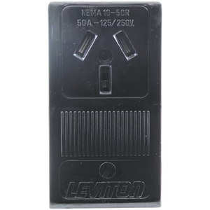 SINGLE-SURFACE RANGE RECEPTACLE (3 WIRE) - 5050 - PASS & SEYMOUR