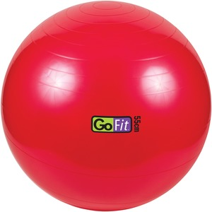 55CM EXERCISE BALL WITH - GF-55BALL - GOFIT