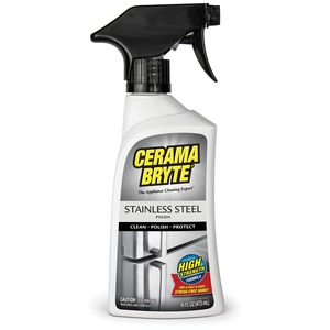STAINLESS STEEL CLEANING POLISH - 47616 - CERAMA BRYTE