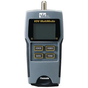 VDV MULTIMEDIA CABLE TESTER - 33-856 - IDEAL