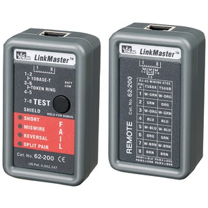 LINKMASTER(TM) ETHERNET TESTER - 62-200 - IDEAL