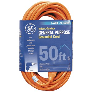 INDOOR/OUTDOOR EXTENSION CORD (50 FT) - JASHEP51926 - GE