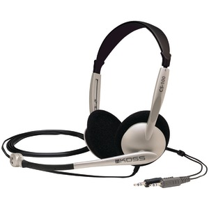 CS100 MULTIMEDIA HEADSET WITH MICROPHONE - 159617 - KOSS