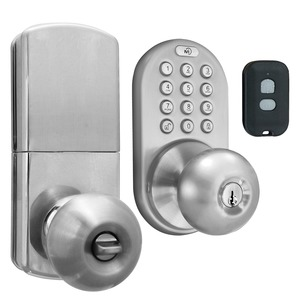 SATIN NICKEL 3IN1 REMOTE - QKK-01SN - MORNING INDUSTRY INC