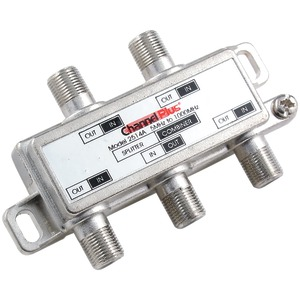 DC/IR PASSING SPLITTER/COMBINER (4 WAY) - 2514 - CHANNEL PLUS