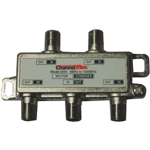 SPLITTER/COMBINER (4 WAY) - 2534 - CHANNEL PLUS