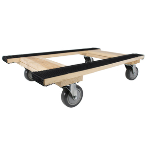 WOOD 4-WHEEL PIANO H DOLLY - MT10001 - MONSTER TRUCKS
