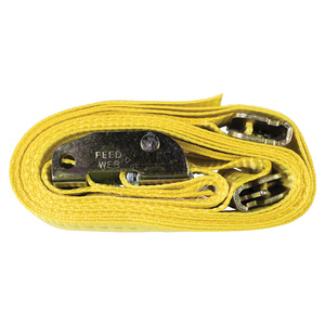CAMBUCKLE STRAP (12 FT; YELLOW) - MT10201 - MONSTER TRUCKS