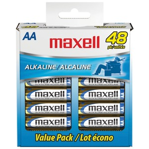 48PK AA BATTERIES BOX - 723443 - LR648B - MAXELL