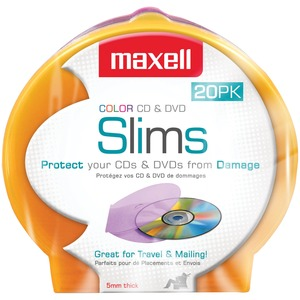 20PK 5MM REPLACEMNT SLIM JEWEL - 190073 - MAXELL