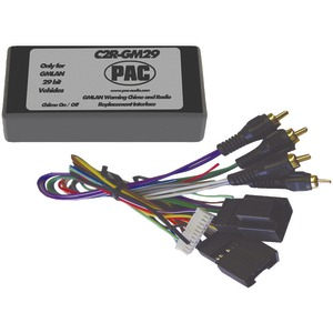29-BIT INTERFACE FOR 2007 GM VEHICLES WITH NO ONSTAR SYSTEM - C2R-GM29 - PAC