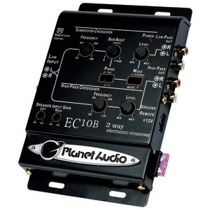 2-WAY CROSSOVER - EC10B - PLANET AUDIO