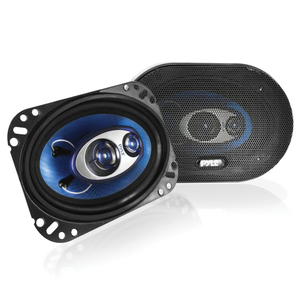 4X6 inch TRIAXIAL SPEAKERS - PL463BL - PYLE