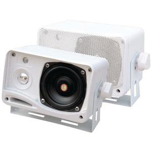 3.5'', 200-WATT, 3-WAY WEATHERPROOF MINI-BOX SPEAKER SYSTEM - PLMR24 - PYLE