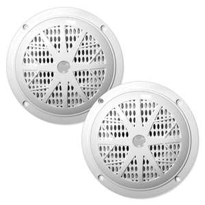 "DUAL CONE WATERPROOF STEREO SPEAKERS (6.5"") - PLMR61W - PYLE"