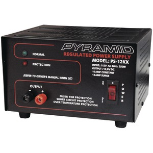 POWER SUPPLY (10 AMP 13.8V) - PS12KX - PYRAMID