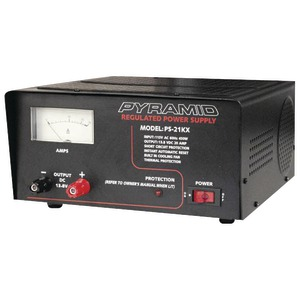 20-AMP POWER SUPPLY - PS21KX - PYRAMID